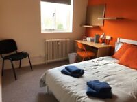 Bedroom within a studio flat (student accommodation)
