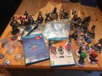 Nintendo wiiu Disney infinity 3 and 2 starwars,marvel