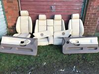 BMW e36 convertible leather seats