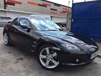Mazda RX-8 1.3 Drives Superb Full Red Leather Heated Seats 1 Owner Xenon Lights 2 Keys