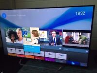 sony bravia kd55805c led 3d smart 4k uhd android . mint condition.