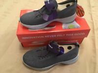 Skechers GoWalk Reward. Size 3. Brand new in box.