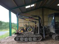 Mowi P20 Forestry Crane