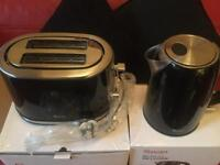 Brand-new Swan toaster and kettle