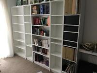 4 IKEA BILLY BOOKCASEs £ 100 as a set