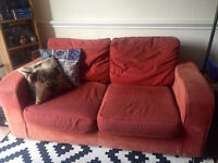 Sofa Bed and Armchair - Bethnal Green for collection only