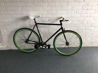 BLB Brick Lane Bikes Supreme single speed lightweight fixie polo bike