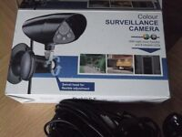 colour surveillance camera,wired,night vision function 8 infared leds