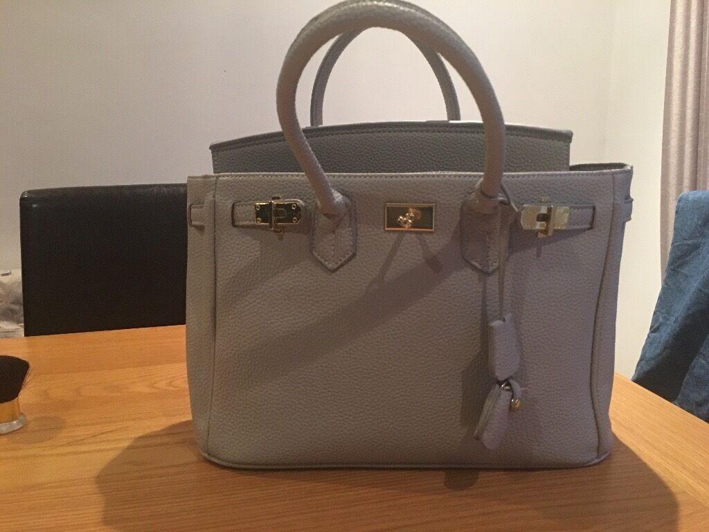 Gorgeous taupe handbag