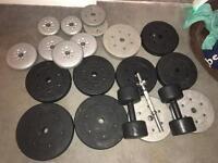 Weights around 70k