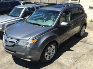 2009 Acura MDX TECH|Navi|Back up Cam|Leather|Accident Free