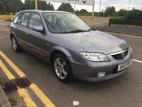Mazda 323F 1.6 GSI 5 door hatch. Air Con. 12 month mot