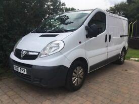 Vauxhall Vivaro van CDTi 1.9 SWB low miles great condition