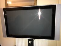 "philips 42"" INCH FULL SCREEN PLASMA HD 1080P WITH TV STAND"