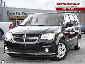 2015 Dodge Grand Caravan Crew | BLUETOOTH | DVD | HEATED LEATHER