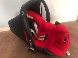 Car seat from birth to 6 months