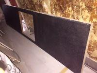 black laminate worktop