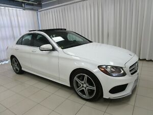 2015 Mercedes Benz C-Class C300 Premium Sport 4-Matic All-Wheel