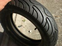 moped or scooter tyre 90/90 ... 10 .. 50j with inner tube as new