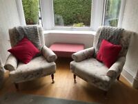 Two Marks & Spencer armchairs