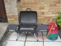 Gas BBQ grill for sale with 5kg gas bottle