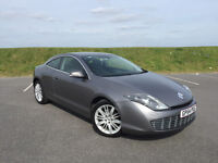 VERY RARE 2009 RENAULT LAGUNA COUPE 2.0 T WITH FULL SERVICE HISTORY AND LONG MOT WITH NO ADVISORIES