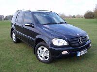 @@ LOVELY 2004 MERCEDES ML 270 CDI,ELEC LEATHER,DVD.TV,CRUISE CONTROL,MOT TILL DEC 2017.SOME HISTORY
