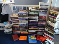JOB LOT COLLECTION OF 137 BOOKS MANY HARDBACKS £40 THE LOT or £1 each