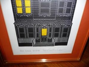 "American Jonathan Talbot ""Park Avenue Victorian"" 1975, Signed Stratford Kitchener Area image 5"