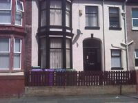 Unfurnished large Victorian 6 bedroom Terraced property located on Wellfield road L9 Walton