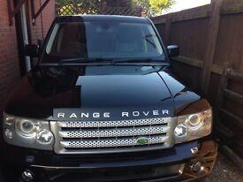 Range Rover HSE Sport for sale, MOT till 2018