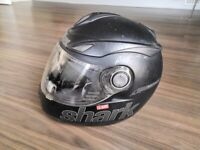 Motorbike helmet from well-known, high quality brand Shark S500 air esprit- size M/L
