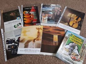 Job lot 500+ Mixed lot of period adverts Early 1970's to Late 1980's