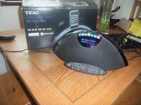 TEAC DAB radio and ipod player