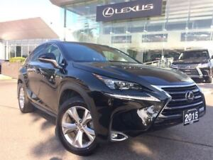 2015 Lexus NX 300h Executive 1 Owner Navi Sunroof Backup Cam Lea