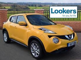 Nissan Juke N-CONNECTA DCI (yellow) 2017-03-01