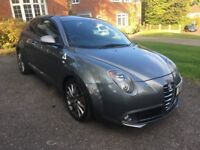 "Alfa Romeo Mito 1.4 Quadrifoglio Verde (Cloverleaf) 170BHP - Grey, CarPlay, 18"" Alloys"