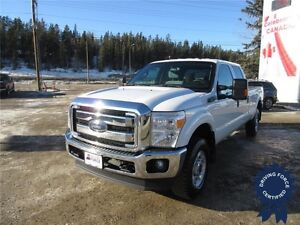 2015 Ford Super Duty F-350 SRW XLT Crew Cab 4x4 - 37,109 KMs