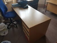 Desk with drawers #032