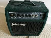 Amp from Johnson for electric guitars - 15 volt