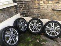 Honda Civic alloys wheel