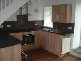 To Let Recently renovated one bedroom terraced cottage, own garden, quiet street, modern layout