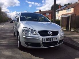 Volkswagen Polo Match 1.4 Automatic 2008 Full MOT Low Mileage