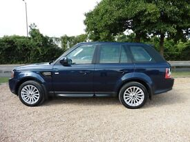 Land Rover Range Rover Sport SDV6 SE Automatic (abslutely lovely baltic blue metallic.) 2012