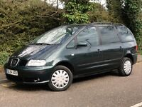 2005 SEAT ALHAMBRA REFERENCE, 2.0 DIESEL ENGINE, 7 SEATS, LONG MOT.