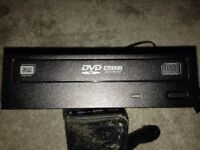 DVD/CD re-writable disc drive sata