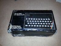 ZX SPECTRUM 48K VINTAGE COMPUTER IN BOX COLLECTORS ITEM