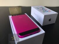 iPhone 5S - Hot pink - Limited edition - New condition - sim free any network