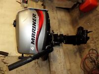 2007 Mariner 4hp Fourstroke Outboard Boat Engine