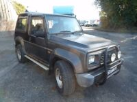 1995 Daihatsu Fourtrak. Spares or repair.